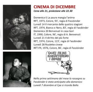 Cinema Dicembre